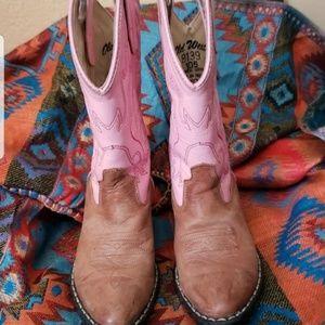 Girls cowboy boots